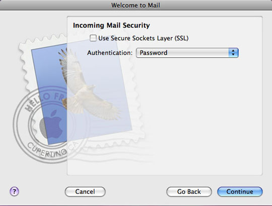Incoming Mail Server Security
